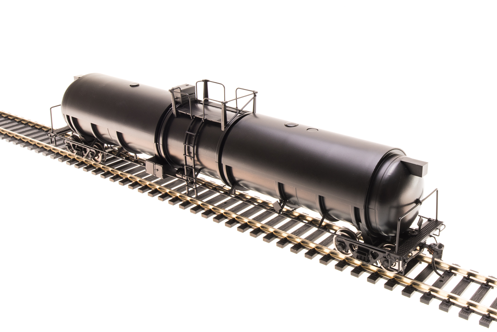N Scale - Broadway Limited - 3735 - Tank Car, Cryogenic - Painted/Unlettered