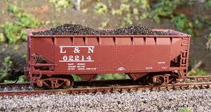 N Scale - Motrak Models - 11801 - Load - Coal