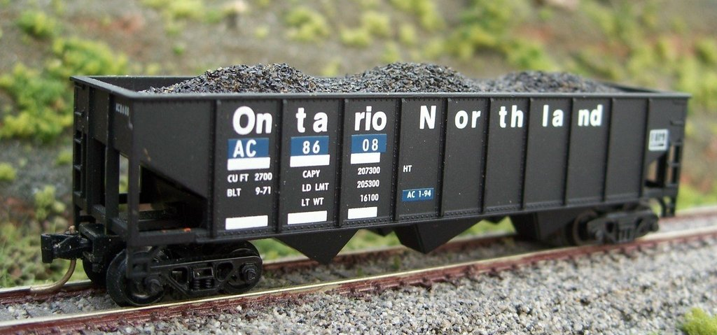 N Scale - Motrak Models - 11250 - Load - Coal