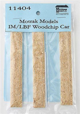 N Scale - Motrak Models - 11404 - Load - Woodchips