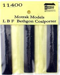 N Scale - Motrak Models - 11400 - Load - Coal