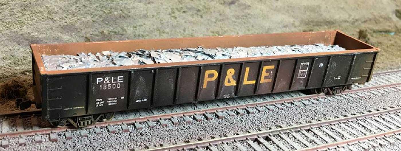 N Scale - Motrak Models - 11406 - Load - Scrap Aluminum