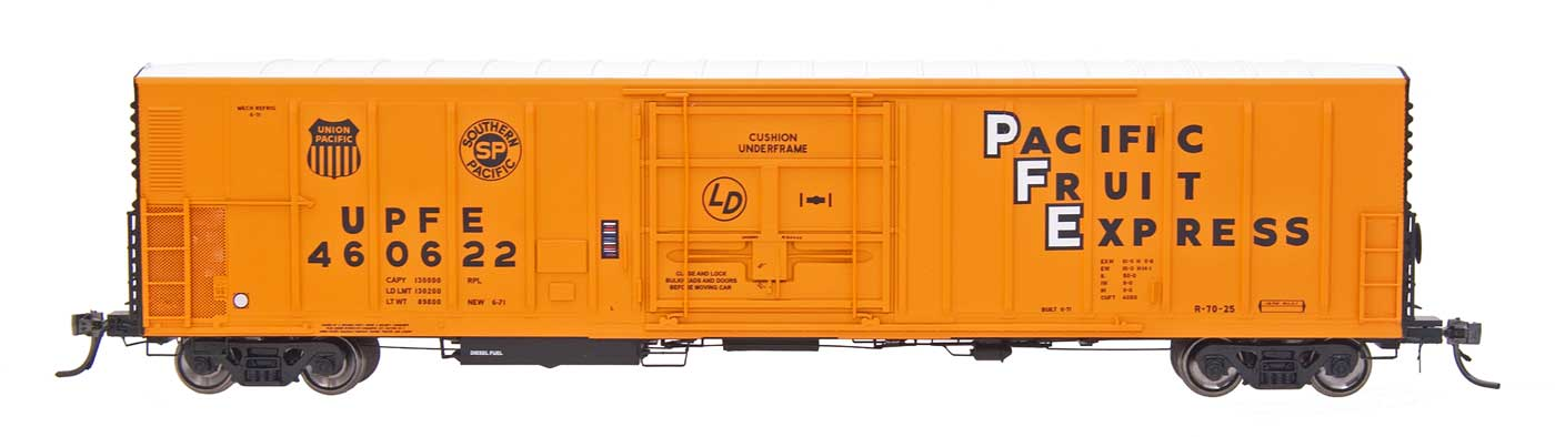 N Scale - InterMountain - 68812-05 - Reefer, 57 Foot, Mechanical, PC&F R-70-20 - Union Pacific - 460478