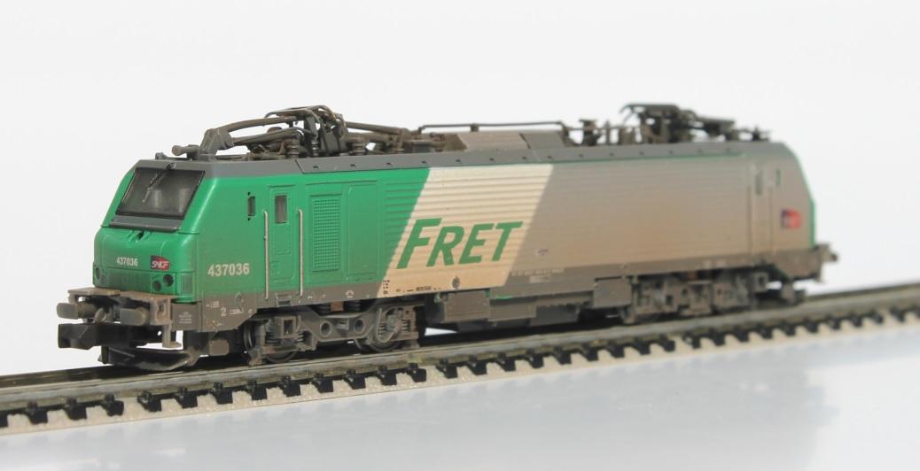 N Scale - Rocky-Rail - RR437036 - Locomotive, Electric, Alstom Prima - SNCF - 437036