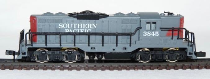 N Scale - Arnold - 5043 - Locomotive, Diesel, EMD GP9 - Southern Pacific - 3845