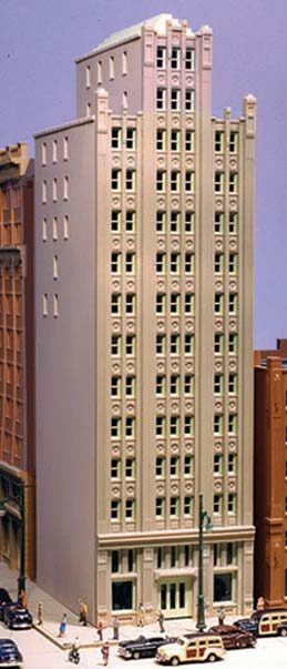 N Scale - Lunde Studios - LS-NK-5 - Office - Undecorated