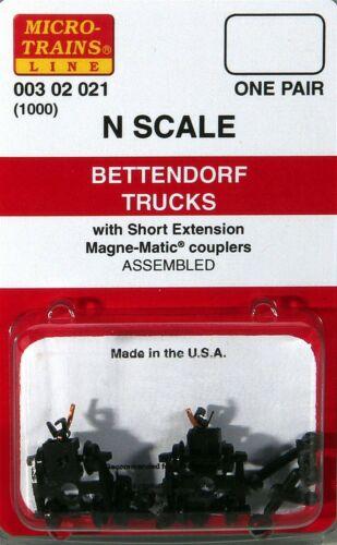 N Scale - Micro-Trains - 1000 - Bogies - Bettendorf