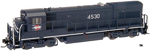 N Scale - Atlas - 47908 - Locomotive, Diesel, GE U23B - Missouri Pacific - 4512