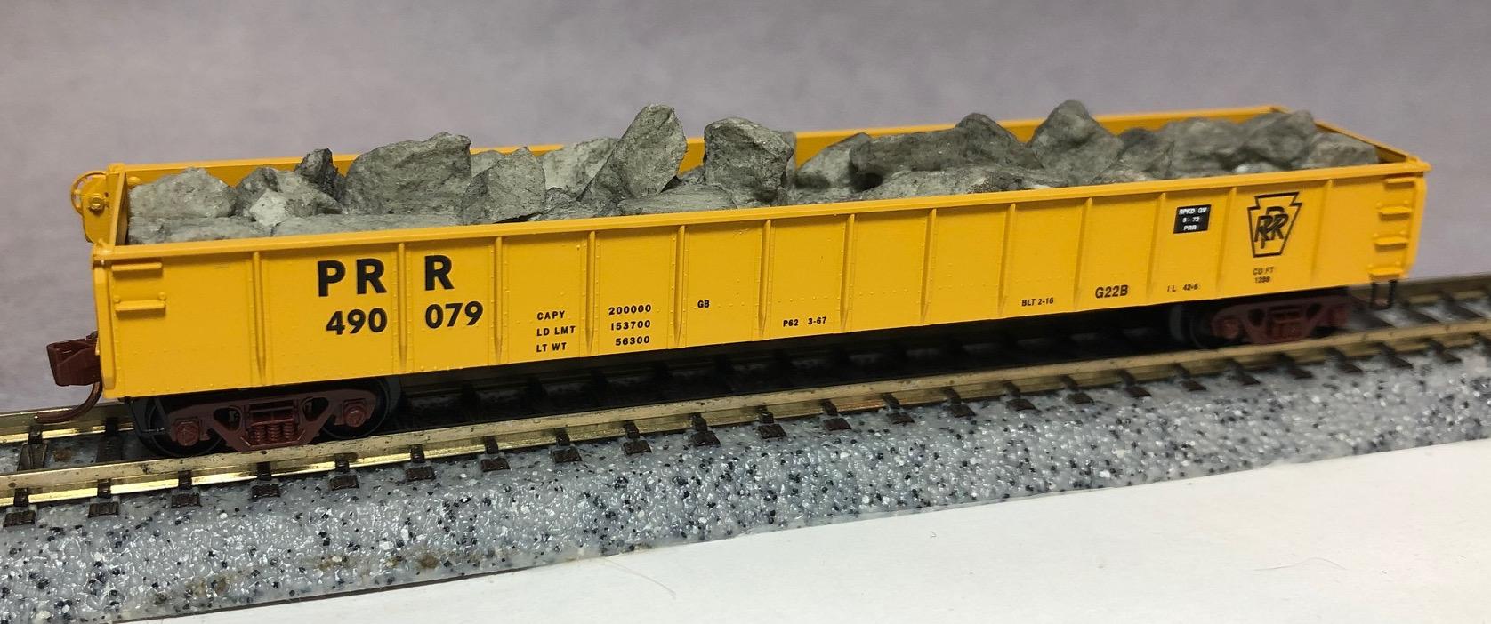 N Scale - Micro-Trains - NSC 01-19 - Gondola, 50 Foot, Steel - Pennsylvania - 490079
