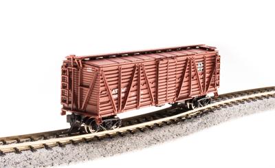 N Scale - Broadway Limited - 3566 - Stock Car, 40 Foot, Steel - Santa Fe - 52245