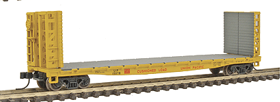 N Scale - Walthers - 932-8203 - Flatcar, 53 Foot 6 inch GSC Commonwealth - Union Pacific - 58632