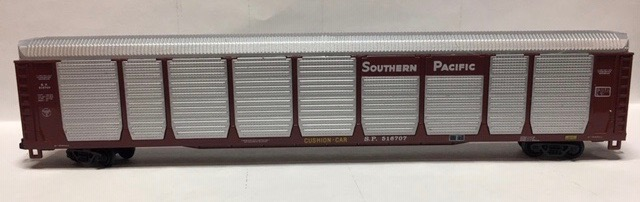 N Scale - Con-Cor - 0001-603002 (02) - Autorack, Enclosed, Bi-Level - Southern Pacific - 516707