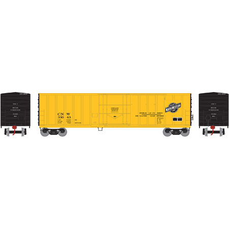 N Scale - Athearn - 06603 - Boxcar, 50 Foot, NACC Insulated - Chicago & North Western - 33043