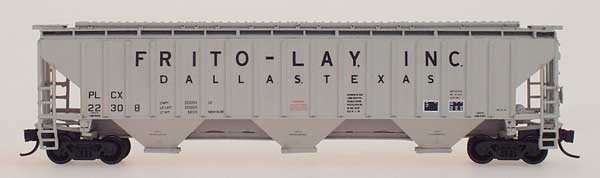 N Scale - InterMountain - 65336-18 - Covered Hopper, 3-Bay, Thrall 4750 - Frito-Lay - 22391