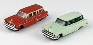N Scale - Classic Metal Works - 50348 - Automobile, Ford, 1952-1954 - Painted/Unlettered - 1953 Ford Country Sedan