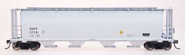 N Scale - InterMountain - 65134-03 - Covered Hopper, 4-Bay, Cylindrical - GACX - 1713