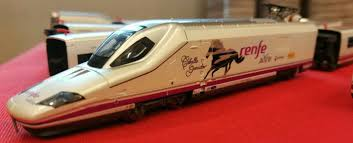 N Scale - TopTrain - 60302 - Passenger Train, Electric, AVE Serie 102 - Renfe - 112 00x