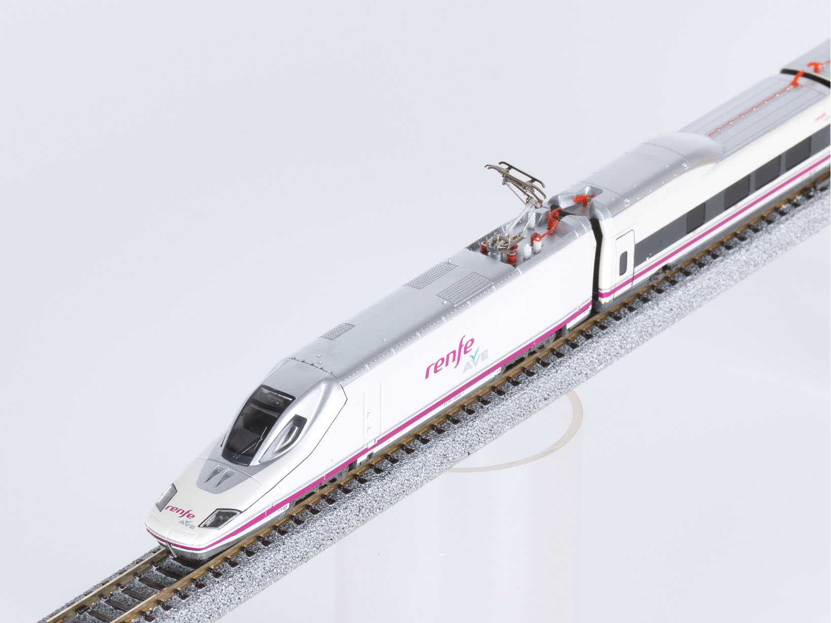 N Scale - TopTrain - 60303 - Passenger Train, Electric, AVE Serie 102 - Renfe - 112 009 / 112 010