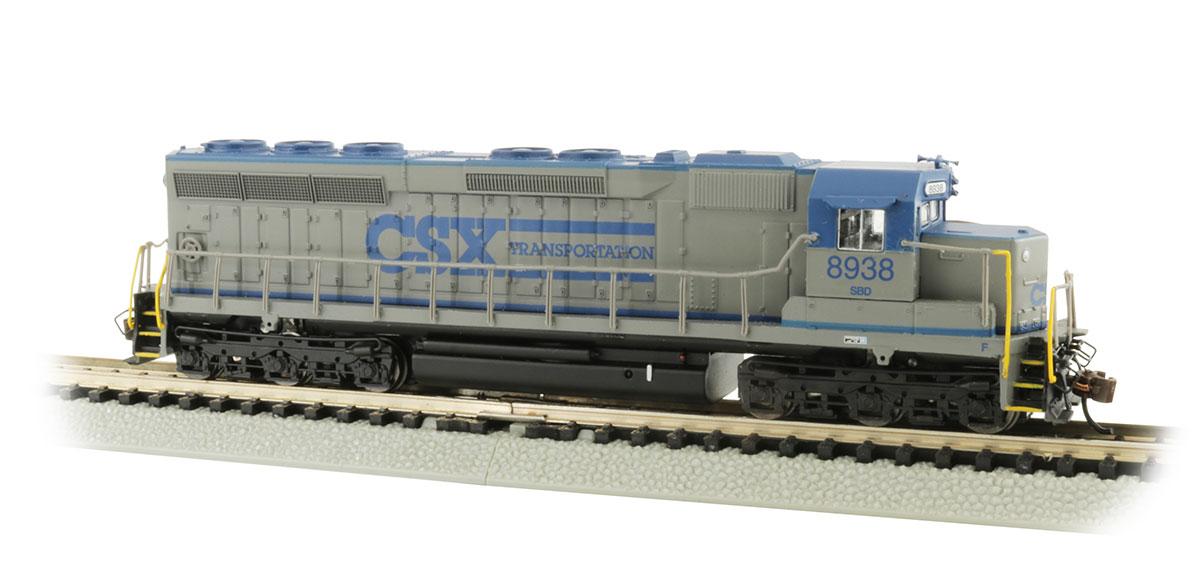 N Scale - Bachmann - 66457 - Locomotive, Diesel, EMD SD45 - CSX Transportation - 8938