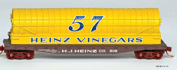 N Scale - N Scale Enthusiast - NSE 18-114 - Tank Car, Vinegar - HJ Heinz - 218