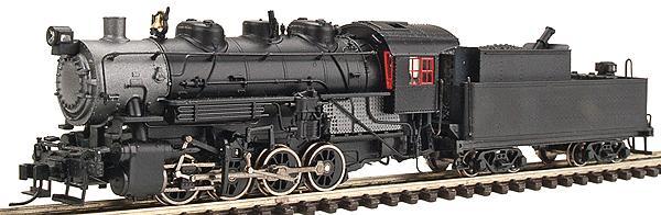 N Scale - Life-Like - 920-90012 - Locomotive, Steam, 0-8-0 USRA - Painted/Unlettered