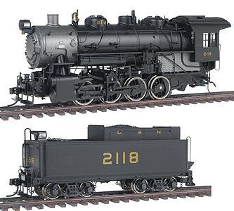 N Scale - Life-Like - 920-90023 - Locomotive, Steam, 0-8-0 USRA - Louisville & Nashville - 2118