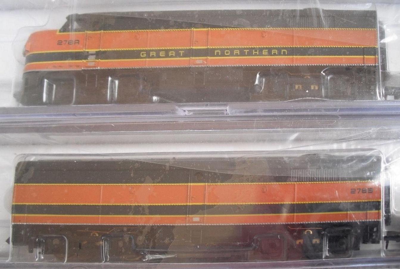 N Scale - Life-Like - 7631 - Locomotive, Diesel, Alco FA/FB - Great Northern - 278A, 278B