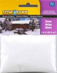N Scale - Woodland Scenics - SP4187 - Scenery - Undecorated - Snow