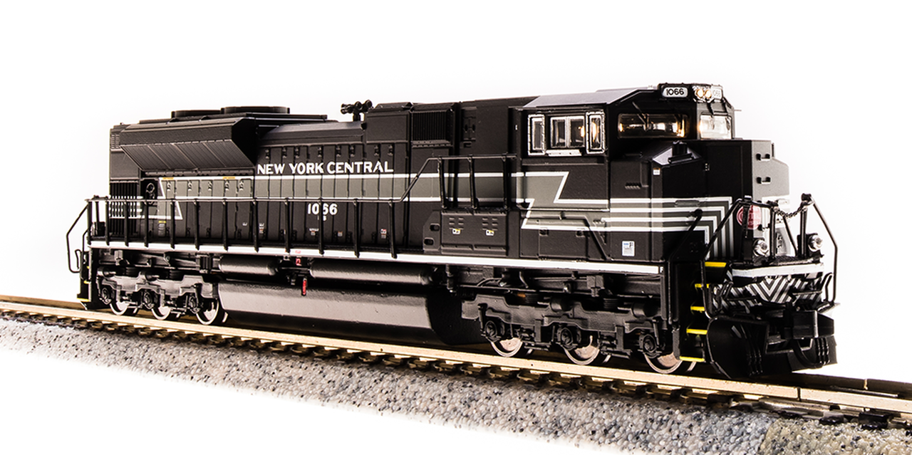 N Scale - Broadway Limited - 3462 - Locomotive, Diesel, EMD SD70 - New York Central - 1066