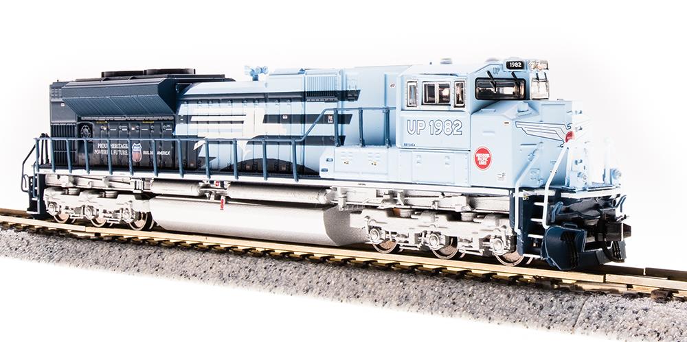 N Scale - Broadway Limited - 3468 - Locomotive, Diesel, EMD SD70 - Missouri Pacific - 1982