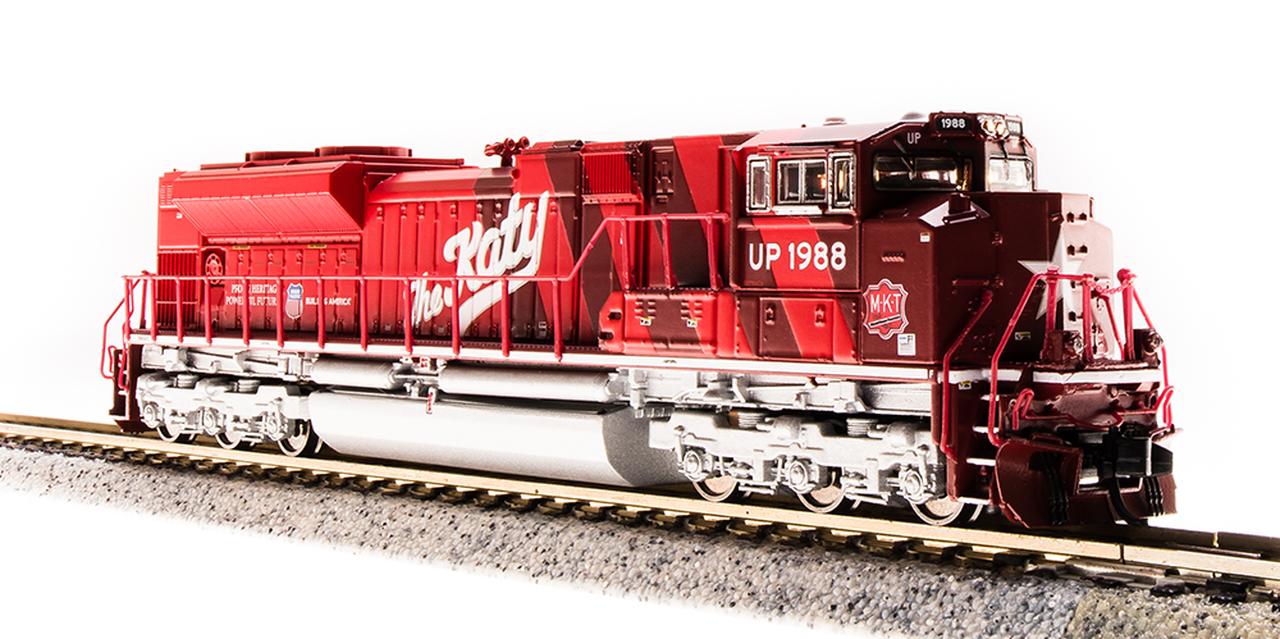 N Scale - Broadway Limited - 3470 - Locomotive, Diesel, EMD SD70 - Missouri-Kansas-Texas - 1988