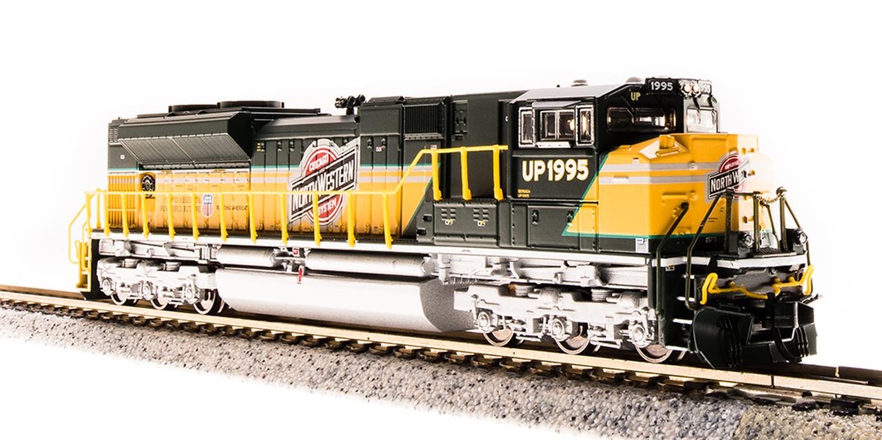 N Scale - Broadway Limited - 3472 - Locomotive, Diesel, EMD SD70 - Chicago & North Western - 1995