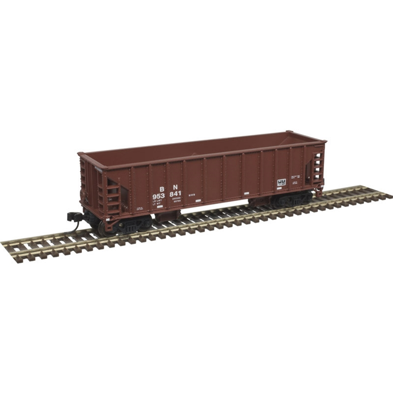 N Scale - Atlas - 50 004 854 -  Open Hopper Ballast 41 Foot - Burlington Northern - 953990
