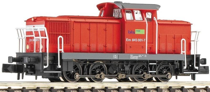 N Scale - Fleischmann - 722003 - Locomotive, Diesel, DR V60 - BLS (Bern–Lötschberg–Simplon) - Em 845 001-7