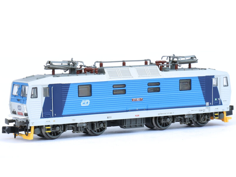 N Scale - Kuehn - 95020 - Locomotive, Electric, BR 180 - ČD (Czech Railways) - 371 002-7