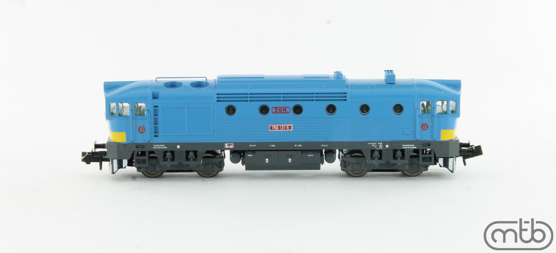 N Scale - MTB-model - N750-131 - Locomotive, Diesel, ČSD Class 750, 753, 754 - ŽSR (Slovakian Republic Railways) - 750 131-5