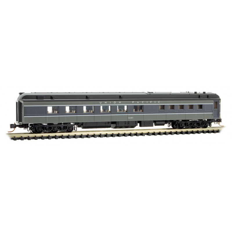N Scale - Micro-Trains -  146 00 190 - Passenger Car, Heavyweight, Pullman Diner - Union Pacific - 3683
