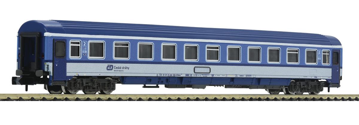 N Scale - Fleischmann - 881809 - Passenger Car, UIC, Type Z - ČD (Czech Railways) - 61 81 21-90 xxx-x