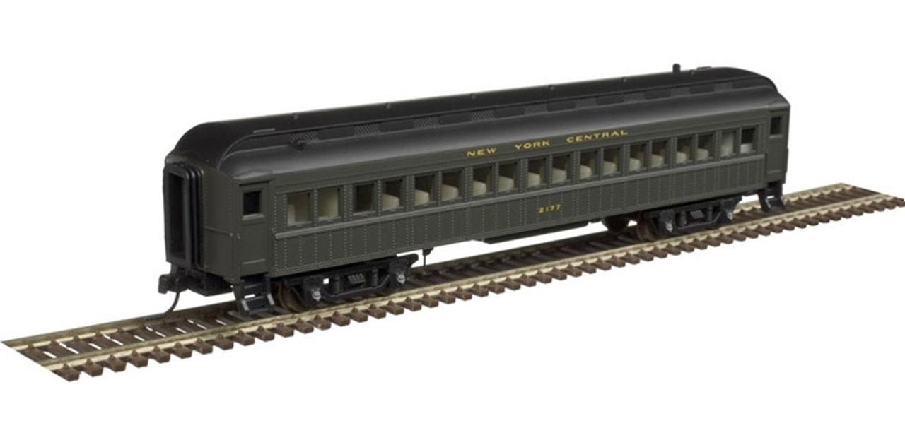N Scale - Atlas - 50 004 237 - Passenger Car, Heavyweight, ACF Coach - New York Central - 2153