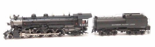 N Scale - Key - 125 - Locomotive, Steam, 4-8-2 L4 Mohawk - Southern Pacific - 4369