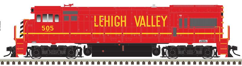 N Scale - Atlas - 40 004 665 - Locomotive, Diesel, GE U23B - Lehigh Valley - 508