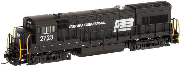 N Scale - Atlas - 45958 - Locomotive, Diesel, GE U23B - Penn Central - 2706