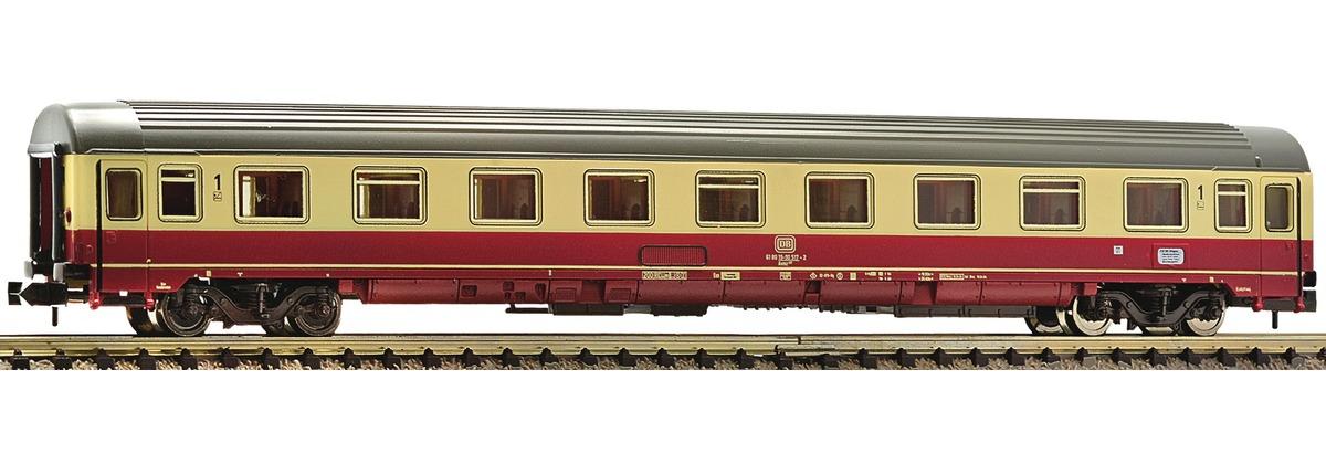 N Scale - Fleischmann - 814403 - Passenger Car, UIC, Type Z - Deutsche Bundesbahn - 61 80 19-90 517-2