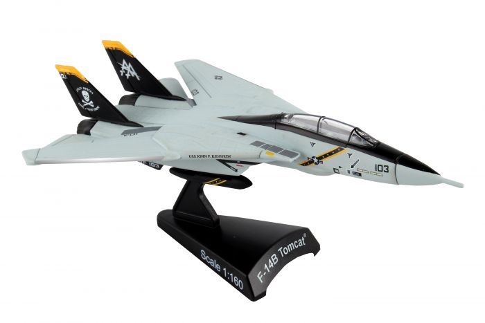 N Scale - Daron - PS5383-3 - Aircraft, Jet, Grumman F-14 - United States Navy - VF-103