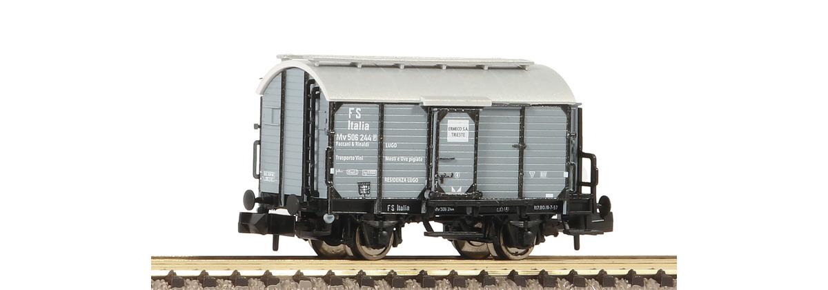 N Scale - Fleischmann - 845706 - Tank Car, Wine Barrel - FS (Ferrovie dello Stato Italiane)