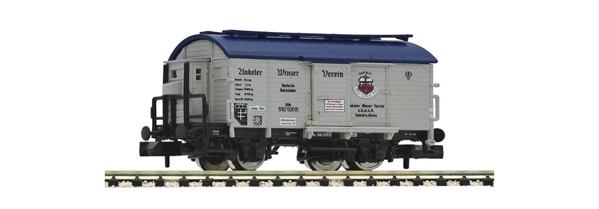 N Scale - Fleischmann - 845708 - Tank Car, Wine Barrel - Deutsche Reichsbahn - 592 020