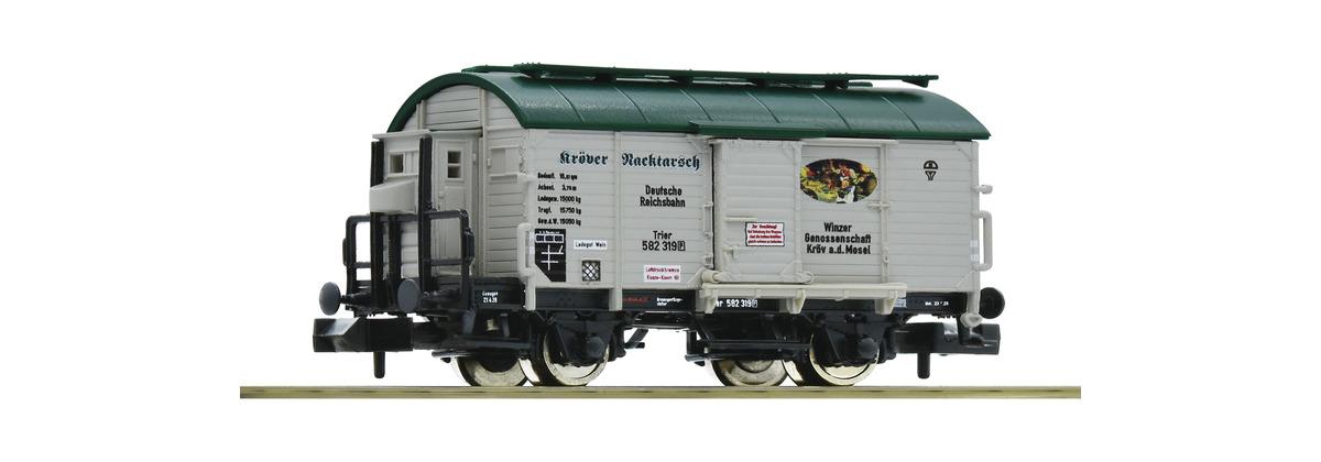 N Scale - Fleischmann - 845709 - Tank Car, Wine Barrel - Deutsche Reichsbahn - 582 319