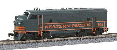 N Scale - Wheels of Time - 80004 - Locomotive, Diesel, EMD F7 - Western Pacific - 921