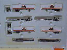 N Scale - Con-Cor - 0001-001905 - 48 Foot, Articulated TOFC - Southern Pacific - 4-Pack