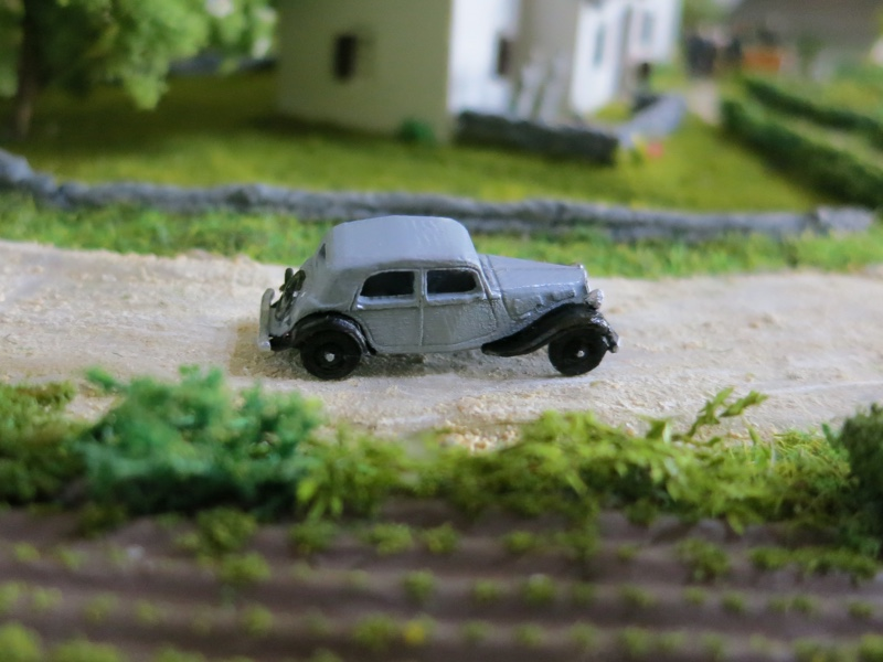 N Scale - RAILNSCALE - N2041 - Automobile, Citroën, Traction Avant - Undecorated
